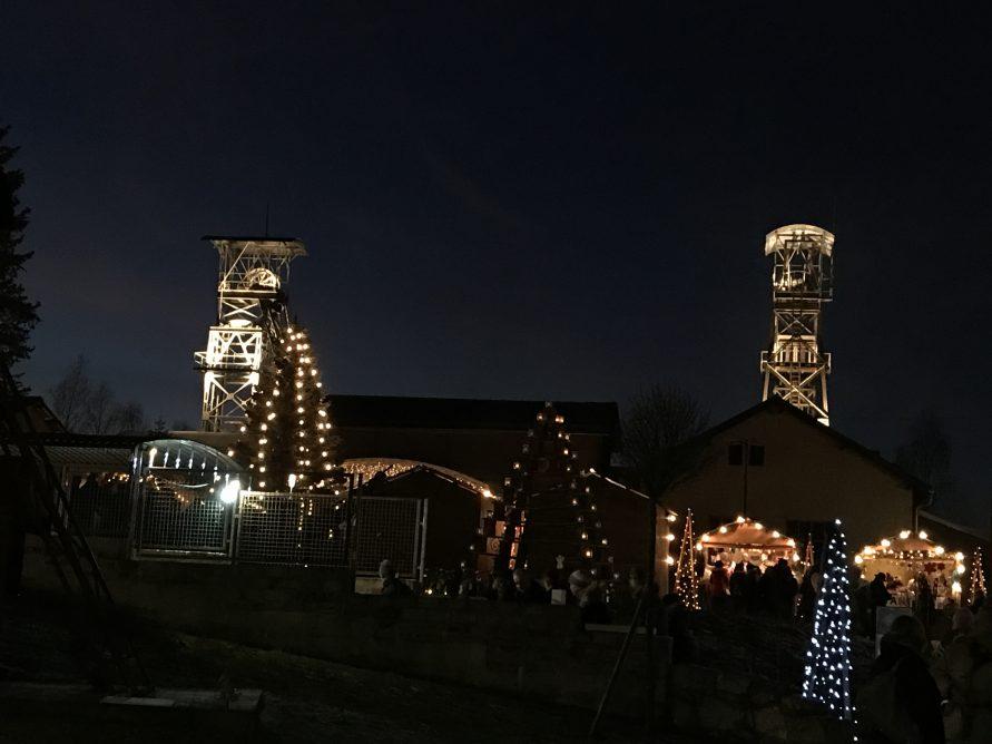 Weihnachtsmarkt im Bergwerk